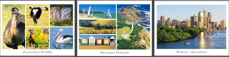Australian Tourist Postcards
